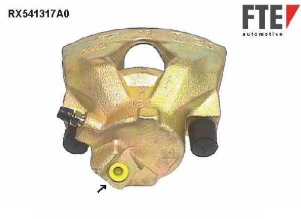 Bremssattel Golf 4 1.9 TDI Audi TT A3 1.8 T quattro 1J0615123D Vorderachse links