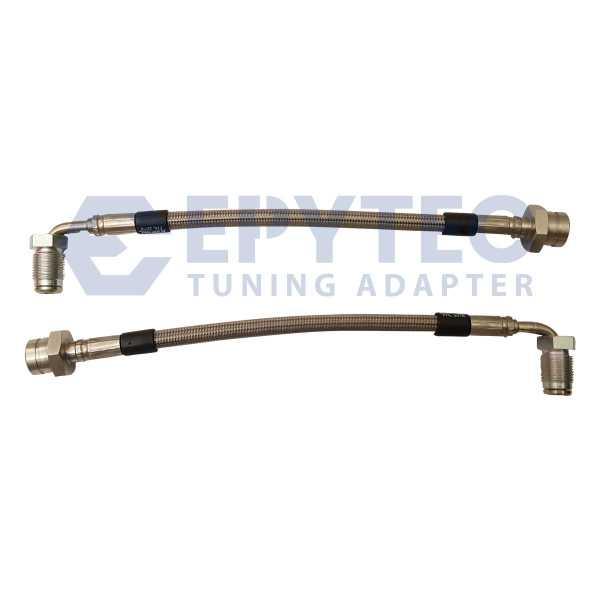 VW Passat 2.0 16V 150PS 3A2, 35I Stahlflex Bremsschläuche Leitungen ABE 40