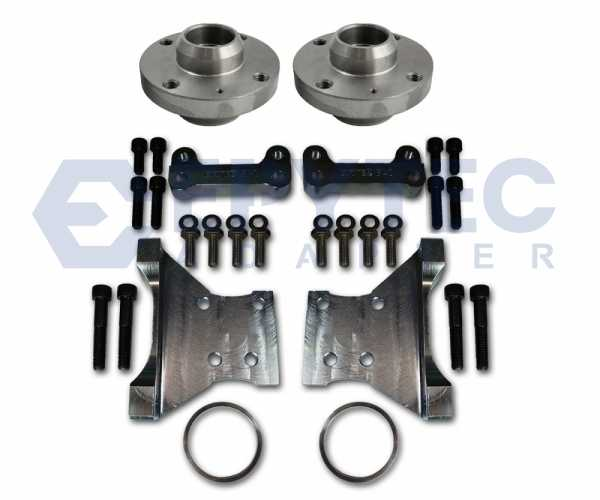Komplett Set HA Golf 3 Porsche + S3 Sattel Adapter