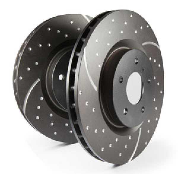 EBC Bremsscheibe Turbo Groove Disc Black   (vorne 5x114,3mm)