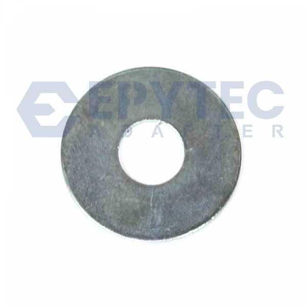 Stahl/Zincor-Buchse Ø Außen 25; Ø Innen 10,2; Länge 0,5