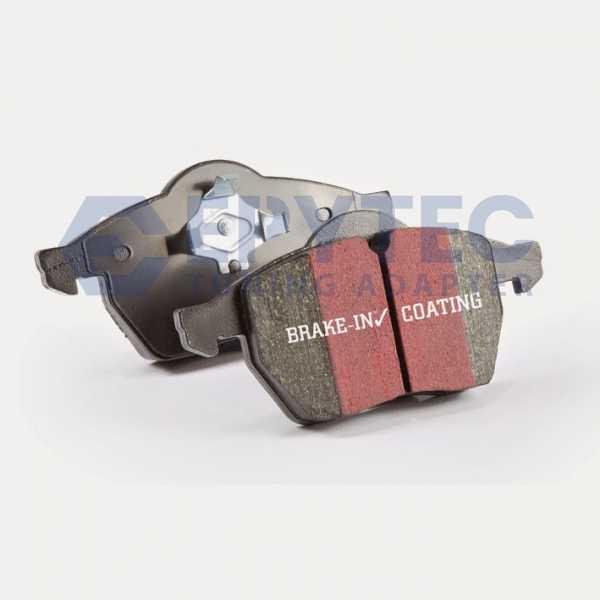 EBC Bremsbeläge Blackstuff vorne Audi Seat Skoda VW A3 TT Ibiza IV Leon 1.8 1.9 TDI quattro