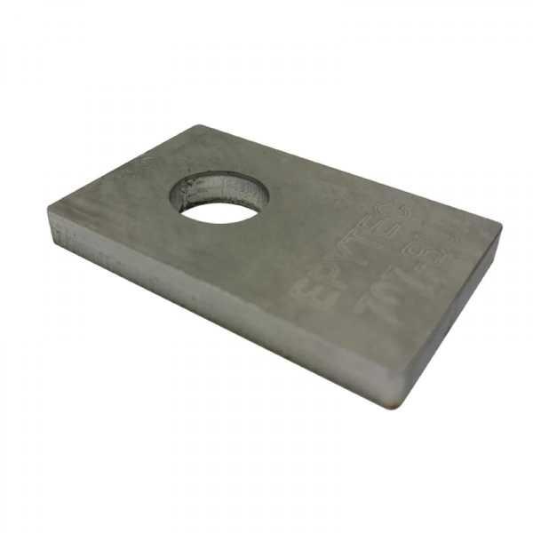 5mm Abstandsbuchse für Bremssatteladapter zur Unterlage.