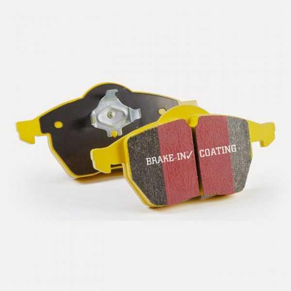 EBC Bremsbeläge Yellowstuff vorne Audi Seat Skoda VW A1 A3 TT Cabriolet 1.4 TFSI 1.6 TDI 2.0