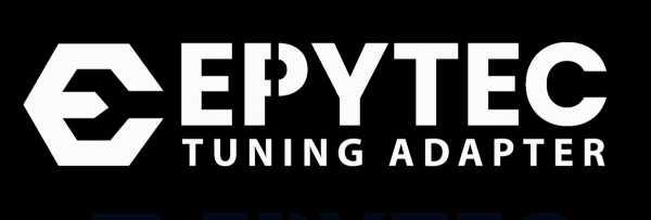 Aufkleber Logo EPYTEC Weiß klein 150mmx50mm