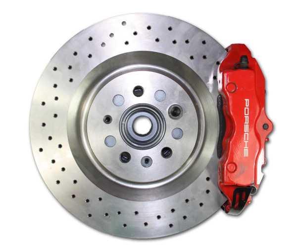 Audi VW TT A3 S3 VW Golf 4 Polo 9N Bora Adapter Bremssattel Porsche Cayenne Bremsanlage